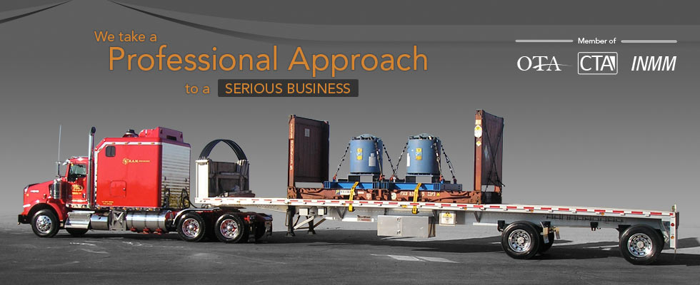 We take a Professional Approach to a Serious Business of Radioactive Transportation in Canada and the USA.